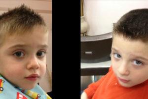 Taglio capelli bambini