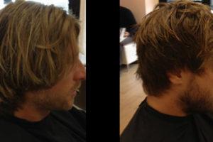 Taglio di capelli - Prima / dopo
